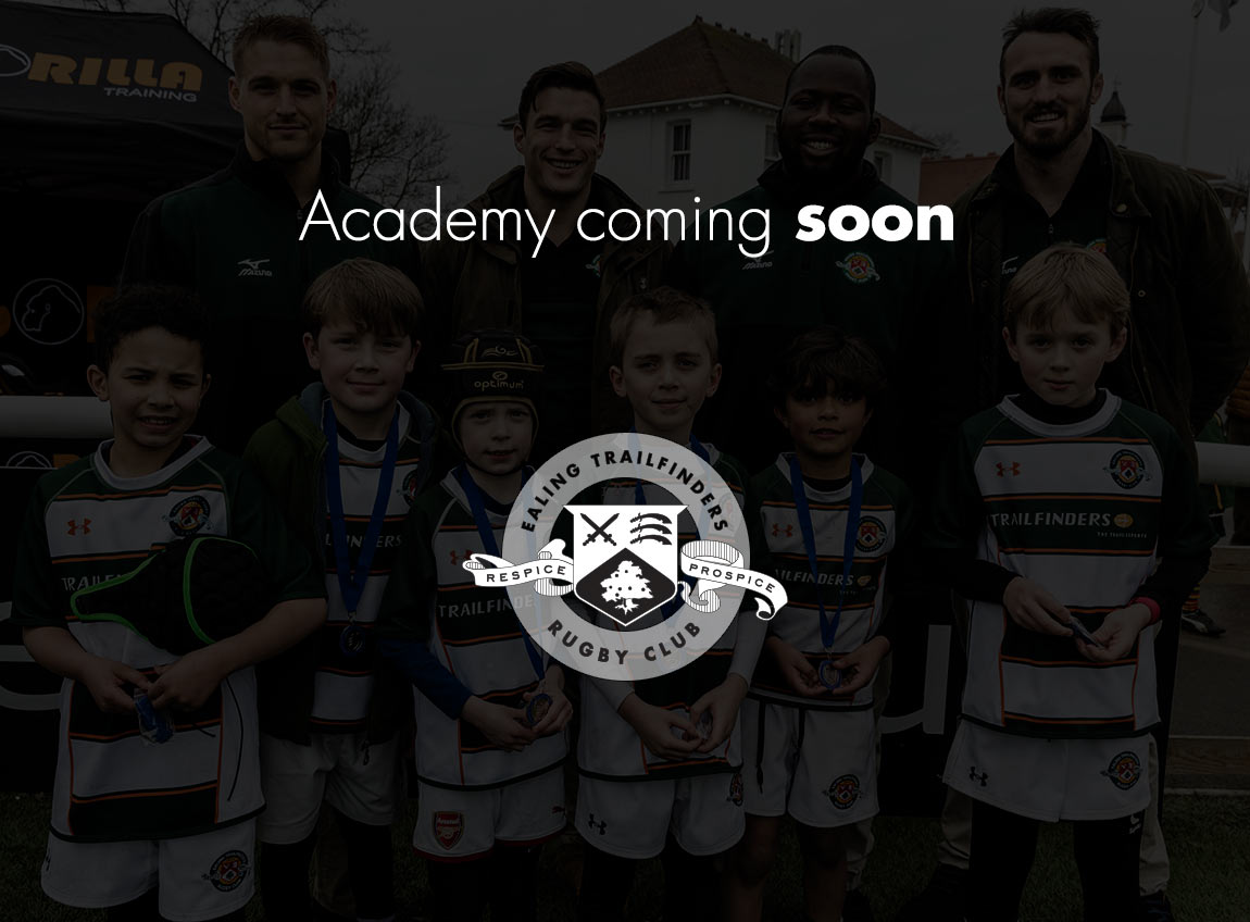 Ealing Trailfinders Rugby Academy comin soon