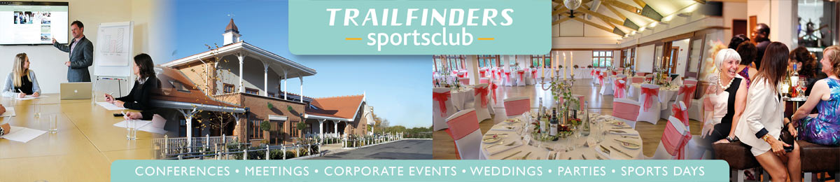 Trailfinders Sportsclub - no better venue